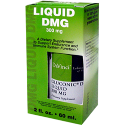 DaVinci Labs Gluconic® DMG Liquid 300 mg 2 oz GL190