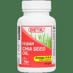 Deva Nutrition LLC Vegan Chia Seed Oil 90 vcaps D00263
