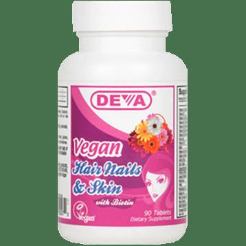 Deva Nutrition LLC Vegan Hair Nails amp Skin 90 tabs D00072