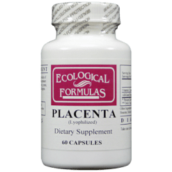 Ecological Formulas Placenta 60 caps 250 mg PLACE