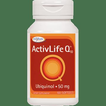 Enzymatic Therapy ActivLife Q10™ Ubiquinol 50 mg 60 gels ACTI7