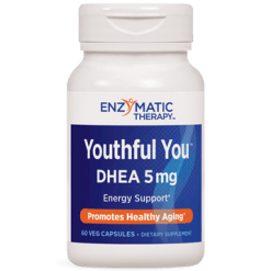 Enzymatic Therapy Youthful You™ DHEA 5 mg 60 caps YOUT2