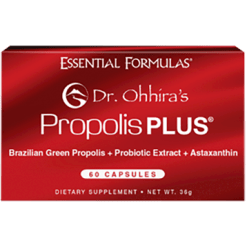 Essential Formulas Dr Ohhiras Propolis PLUS™ 60 capsules E21114