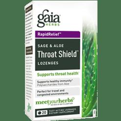 Gaia Herbs Rapid Relief Throat Shield 20 loz THROAT