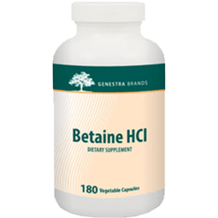 Genestra Betaine HCL 180 vegcaps SE5201