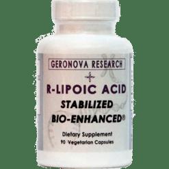 Geronova Research R Lipoic Acid 100 mg 90 vegetarian capsules K1V