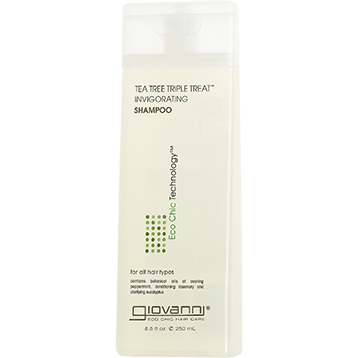 Giovanni Cosmetics Tea Tree Triple Treat Shampoo 8.5 oz G13008