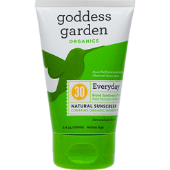 Goddess Garden Everyday Natural Sunscreen Tube 3.4 oz G01383