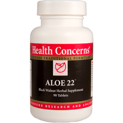 Health Concerns Aloe 22 90 tabs AQUI2