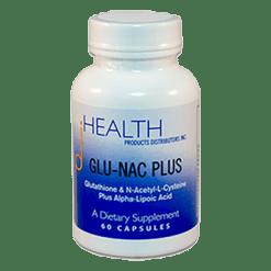 Health Products Distributors GLU NAC Plus 60 capsules GLUNA