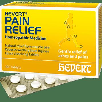 Hevert Pharmaceuticals Pain Relief 100 tablets HV715