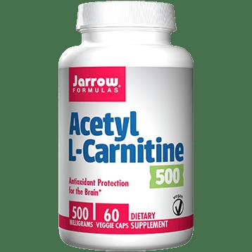 Jarrow Formulas Acetyl L Carnitine 500 mg 60 caps J50374