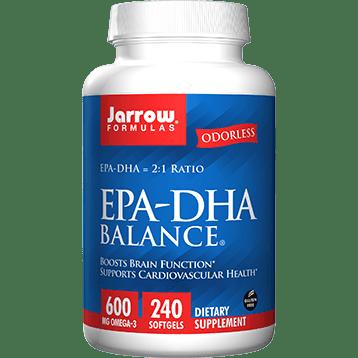 EPA-DHA Balance (Odorless) 240 softgels- Jarrow Formulas