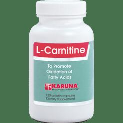 Karuna L Carnitine 500 mg 120 capsules CAR28