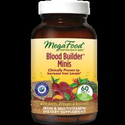 MegaFood Blood Builderreg Minis 60 tabs M10337