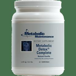 Metabolic Maintenance Metabolic Detox Complete Vanilla 2.3 lbs MET32