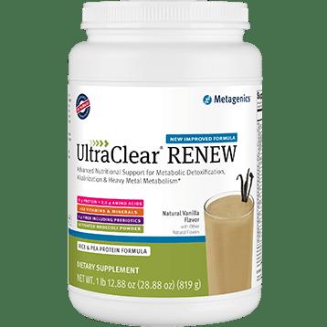 Metagenics UltraClear RICE Vanilla 924g UC