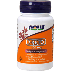 NOW 7 KETO 100 mg 60 vcaps N3013
