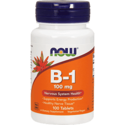 NOW B 1 100 mg 100 tabs N04468