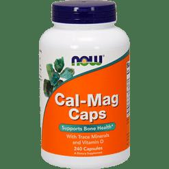 NOW Cal Mag Caps 240 caps N1266
