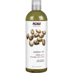 NOW Castor Oil 16 fl oz N7675