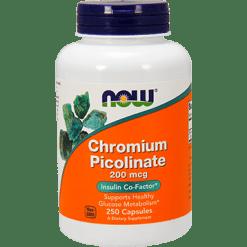 NOW Chromium Picolinate 200 mcg 250 caps N1422