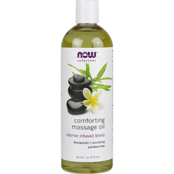 NOW Comforting Massage Oil 16 fl oz N7664