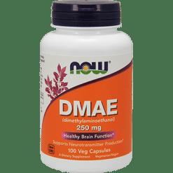 NOW DMAE 250 mg 100 vcaps N3090