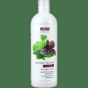 NOW Herbal Revival Shampoo 16 fl oz N8210