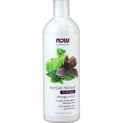 NOW Herbal Revival Shampoo 16 fl oz N8210