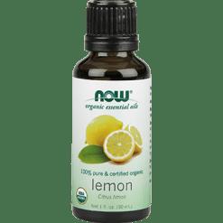 NOW Organic Lemon Oil 1 fl oz N74201