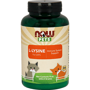NOW Pets L Lysine Powder Cats 8 oz N44501