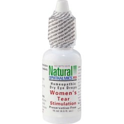Natural Ophthalmics Inc Womens Tear Stimulation Eye Drops .5 oz N10115