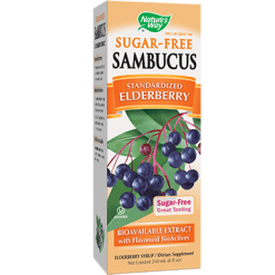 Natures Way Sambucus® Sugar Free Syrup 8 oz SAMB9