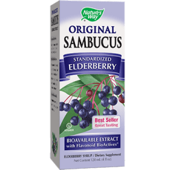 Natures Way Sambucus Original Syrup 4 oz SAMBU