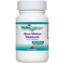 Nutricology Slow Motion Melatonin 60 tablets N52231