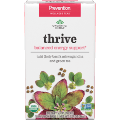 Organic India Prevention Thrive 18 tea bags O00120