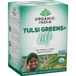 Organic India Tulsi Greens Lift box 15 servings R14724