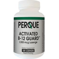PERQUE Activated B 12 Guard™ 2000 mcg 100 loz B12S4