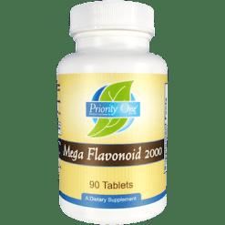 Priority One Vitamins Mega Flavonoid 2000 60 tablets MEG11