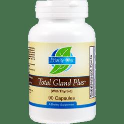Priority One Vitamins Total Gland Plus 90 capsules TOT20