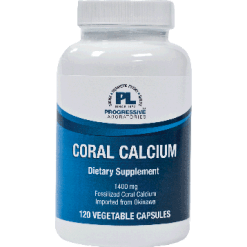 Progressive Labs Coral Calcium 1400 mg 120 vcaps CORA5