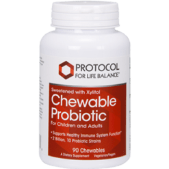 Protocol For Life Balance Chewable Probiotic 4 90 chews P2936