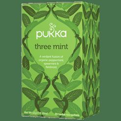 Pukka Herbs Inc. Three Mint Tea 20 sachets P23138