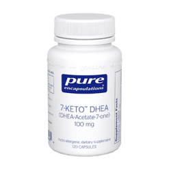 Pure Encapsulations 7 Keto DHEA 100 mg 120 vcaps 7KET5