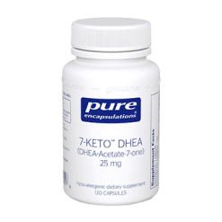 Pure Encapsulations 7 Keto DHEA 25 mg 120 vcaps 7KET4