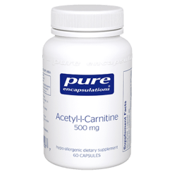 Pure Encapsulations Acetyl L Carnitine 500 mg 60 vcaps ACET6