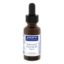 Pure Encapsulations Adenosyl Hydroxy B12 liquid 1 fl oz P17242