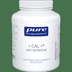 Pure Encapsulations CAL ® with Ipriflavone 350 vegcaps CAL62