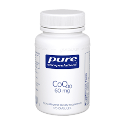 Pure Encapsulations CoQ10 60 mg 120 vegcaps COQ61